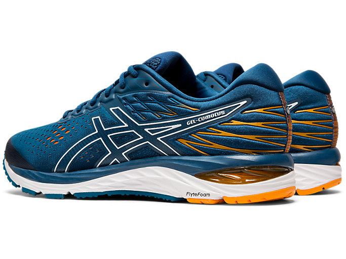 Front Left view of GEL-CUMULUS™ 21, MAKO BLUE/WHITE