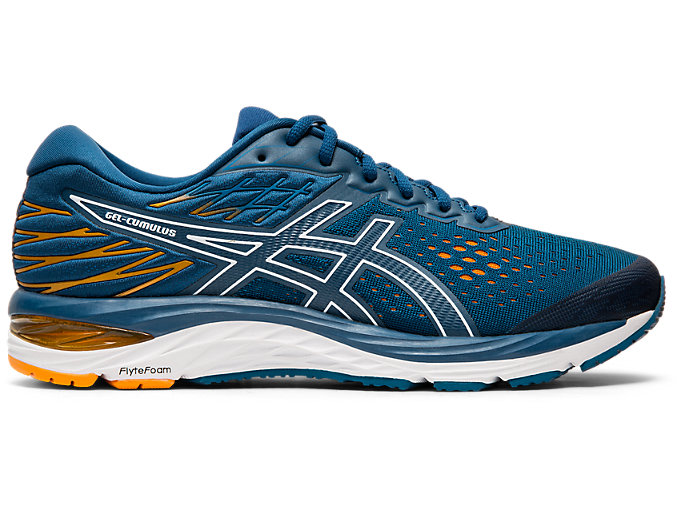 Men's GEL CUMULUS 21 | MAKO BLUEWHITE | Running Shoes | ASICS