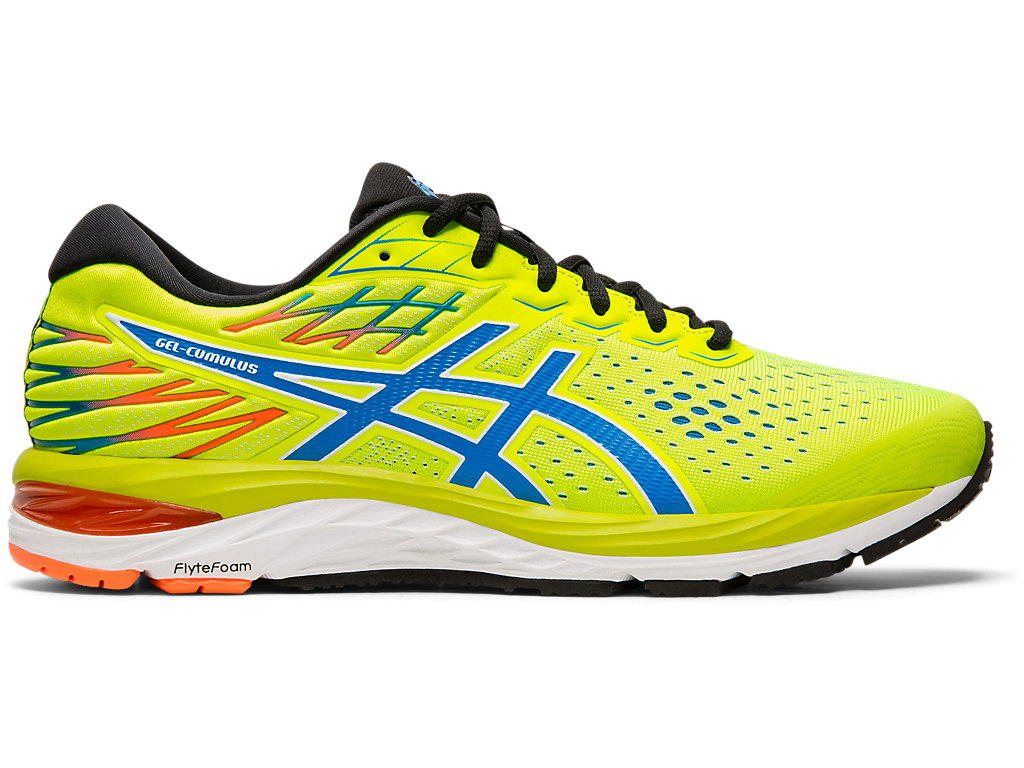Men's GEL CUMULUS™ 21 | SAFETY YELLOWELECTRIC BLUE