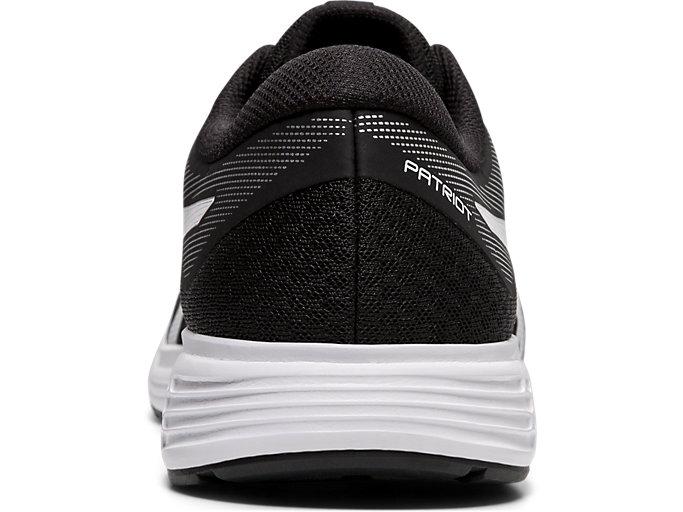 Back view of PATRIOT™ 11, BLACK/WHITE