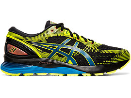 GEL-NIMBUS 21 SP, BLACK/SAFETY YELLOW