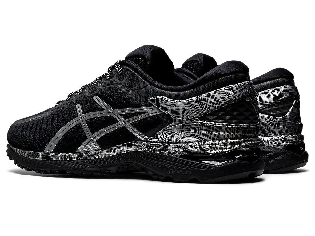 Men's MetaRun | BLACKSILVER | Running Shoes | ASICS