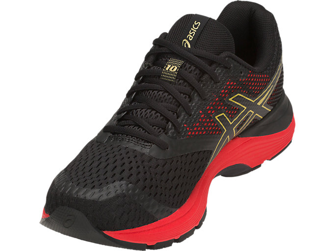 Men's GEL PULSE 10 | BLACKRICH GOLD | Running | ASICS Outlet