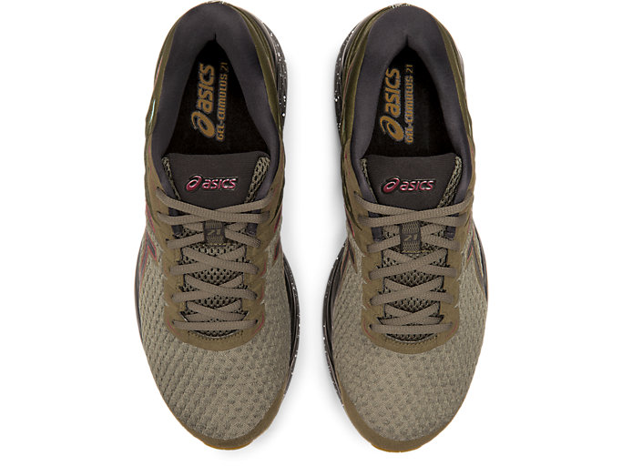 Top view of GEL-CUMULUS™ 21 WINTERIZED, OLIVE CANVAS/BLACK
