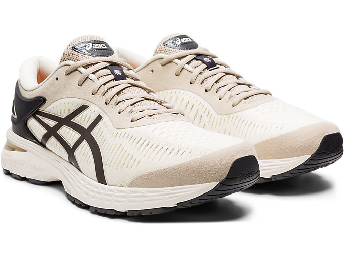 Front Right view of GEL-KAYANO 25, BIRCH/PHANTOM