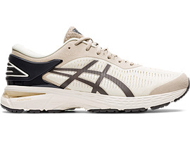 Right side view of GEL-KAYANO 25, BIRCH/PHANTOM
