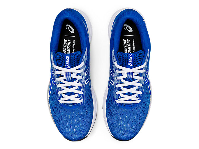 Top view of GEL-EXCITE™ 7, TUNA BLUE/WHITE