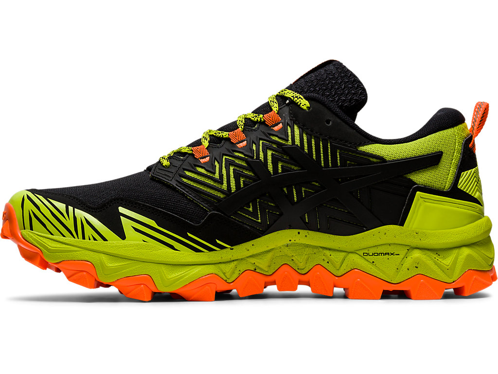 Men's GEL FUJITRABUCO™ 8 | NEON LIMESHOCKING ORANGE