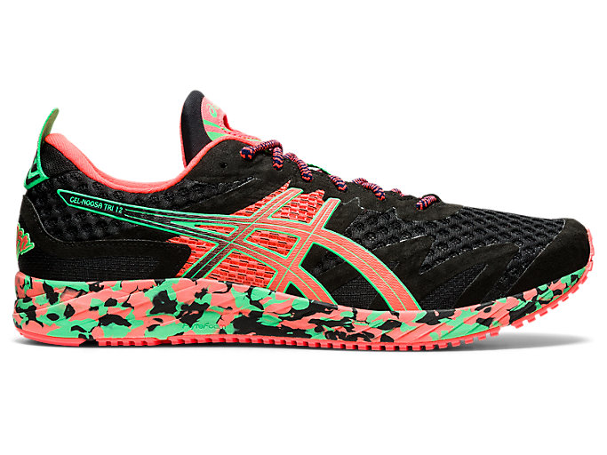 Men's GEL NOOSA TRI™ 12 | BLACKFLASH CORAL | Laufschuhe | ASICS