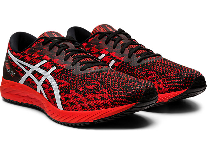 Front Right view of GEL-DS TRAINER™ 25, FIERY RED/WHITE