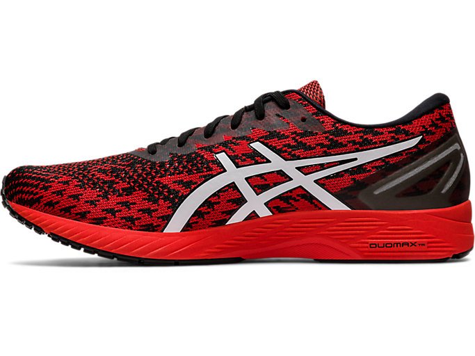 Left side view of GEL-DS TRAINER™ 25, FIERY RED/WHITE