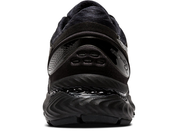 Back view of GEL-NIMBUS™ 22, BLACK/BLACK