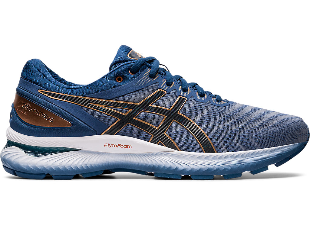 Men's GEL NIMBUS 22 | GLACIER GREYGRAPHITE GREY | Running