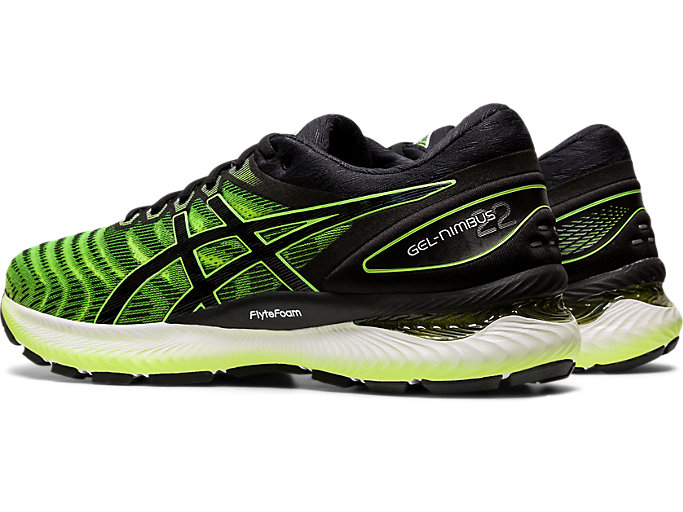 Front Left view of GEL-NIMBUS 22, SAFETY YELLOW/BLACK