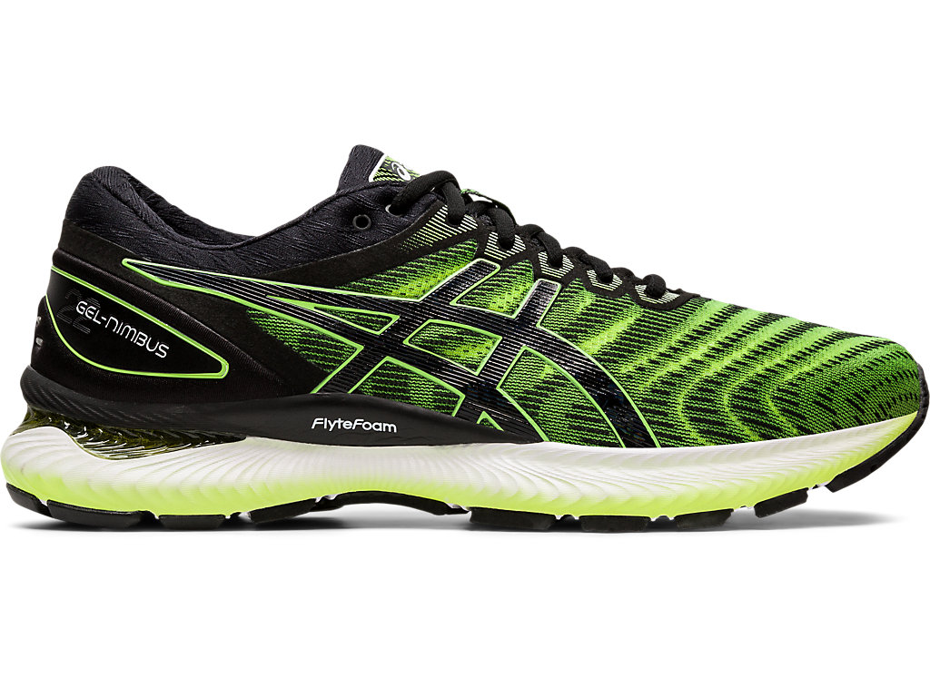 Men's GEL NIMBUS™ 22 | SAFETY YELLOWBLACK | Scarpe da
