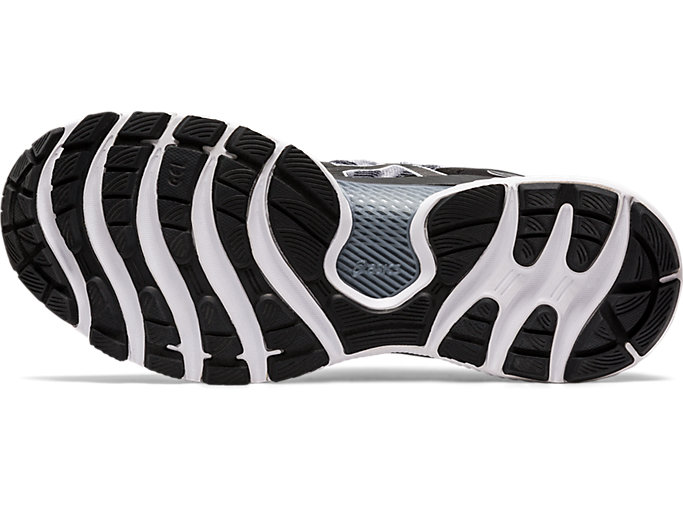 Bottom view of GEL-NIMBUS™ 22 (WIDE), WHITE/BLACK