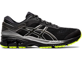 Right side view of GEL-KAYANO 26 LITE-SHOW, BLACK/BLACK