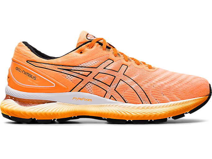 Men's GEL NIMBUS™ 22 | ORANGE POPBLACK | Scarpe da Running