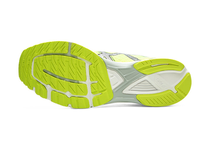 Bottom view of HEATRACER 2, SAFETY YELLOW/BLACK
