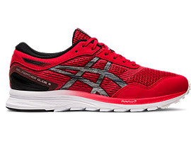 Right side view of GEL-FEATHER GLIDE 5, CLASSIC RED/BLACK