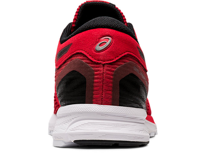 Back view of GEL-FEATHER GLIDE 5, CLASSIC RED/BLACK