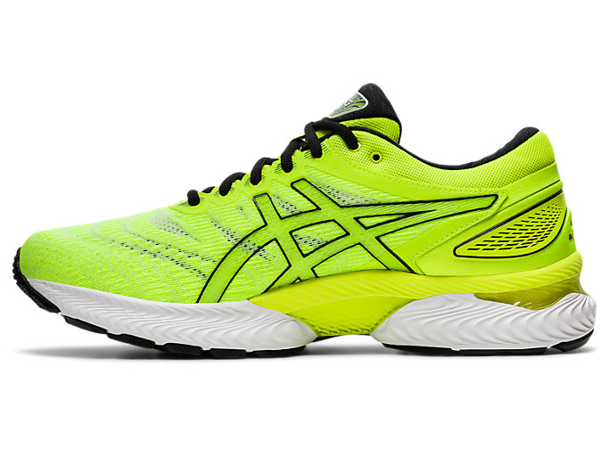 Left side view of GEL-NIMBUS 22, SAFETY YELLOW/SAFETY YELLOW