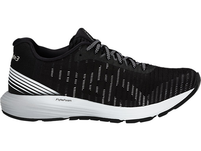 Women's DynaFlyte 3 | BLACKWHITE | Running Shoes | ASICS
