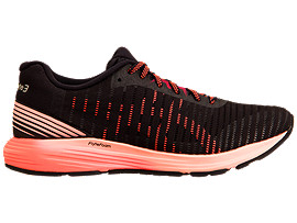 DYNAFLYTE 3, BLACK/FLASH CORAL