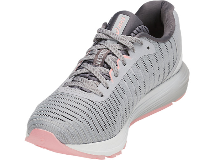 Front Left view of DYNAFLYTE 3, MID GREY/WHITE