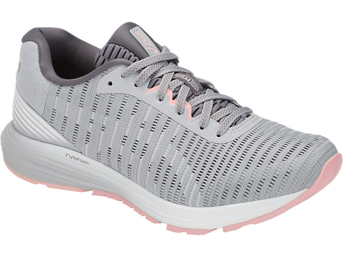 Front Right view of DYNAFLYTE 3, MID GREY/WHITE