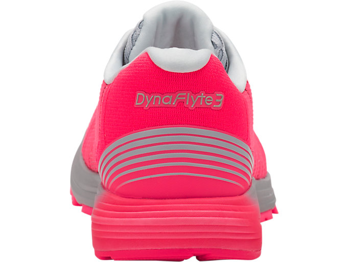 Back view of DynaFlyte 3, DIVA PINK/WHITE