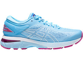 Right side view of GEL-KAYANO 25, SKYLIGHT/ILLUSION BLUE