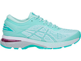 Right side view of GEL-KAYANO 25, ICY MORNING/SEA GLASS