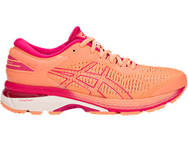 GEL-KAYANO® 25, SHOCKING ORANGE/BLACK
