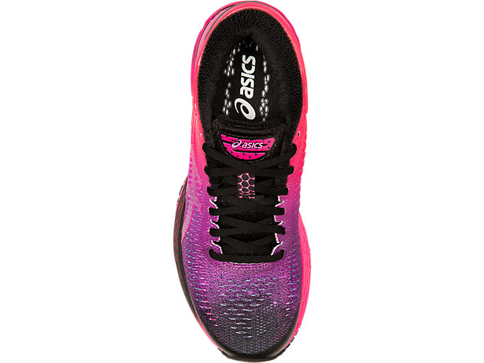 Top view of GEL-KAYANO 25 SP, BLACK/BLACK