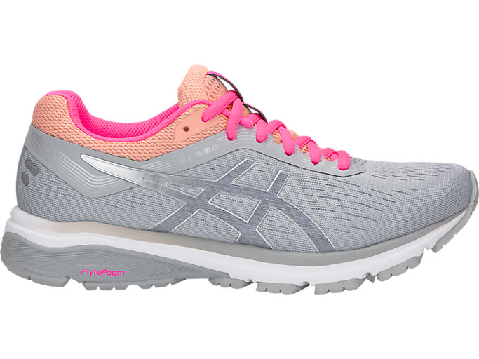 29d62963 GT-1000 7 | Women | MID GREY/SILVER | Women's Running Shoes | ASICS