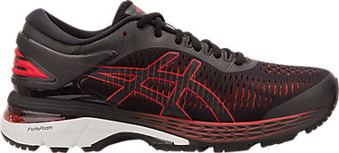 04ccb30199ac GEL-KAYANO 25 (D WIDE) BLACK CLASSIC RED 3 RT