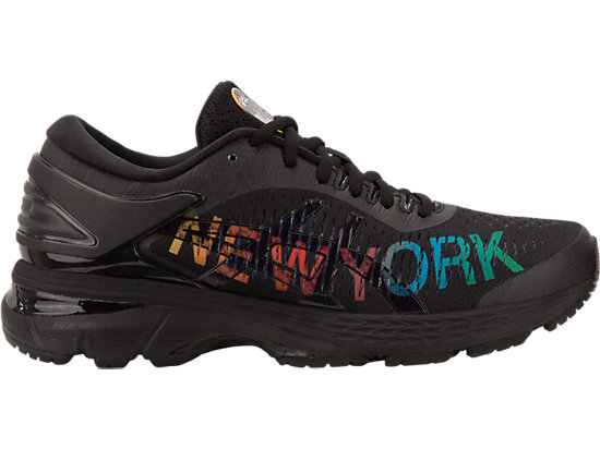 GEL-KAYANO 25 NYC, BLACK/BLACK