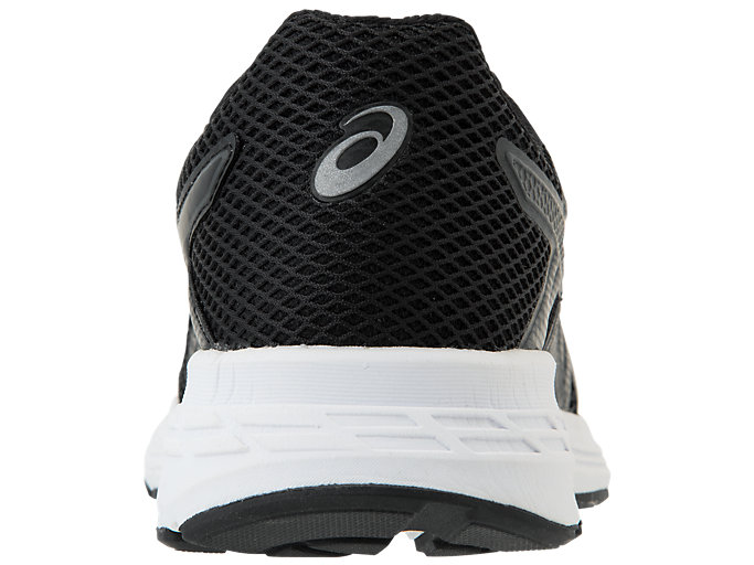 Back view of GEL-EXALT 5, BLACK/BLACK