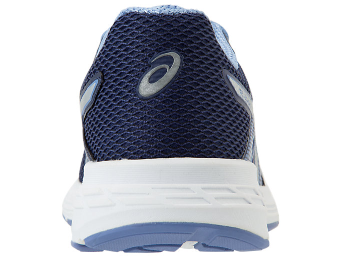 Back view of GEL-EXALT™ 5, INDIGO BLUE/SILVER