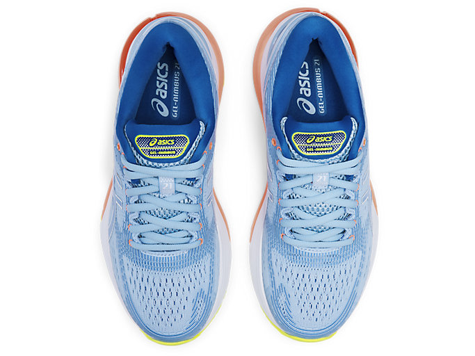 Top view of GEL-NIMBUS® 21, HERITAGE BLUE/LAKE DRIVE