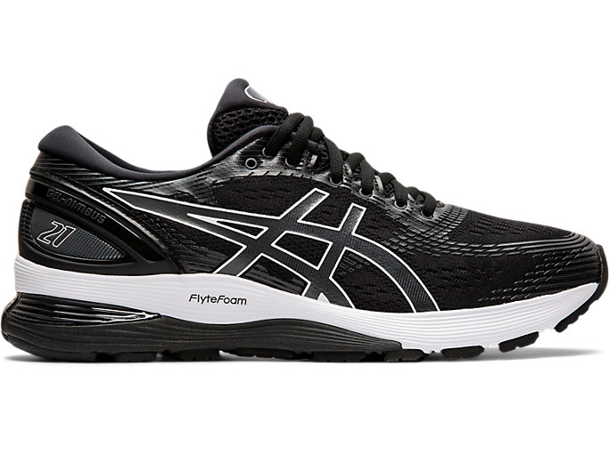 Women's GEL NIMBUS™ 21 | BLACKDARK GREY | Laufschuhe | ASICS