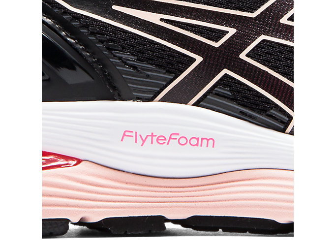 Alternative image view of GEL-NIMBUS 21, BLACK/LASER PINK