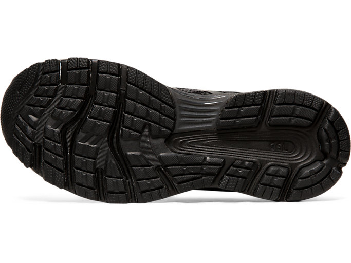 Bottom view of GEL-NIMBUS 21, BLACK/BLACK