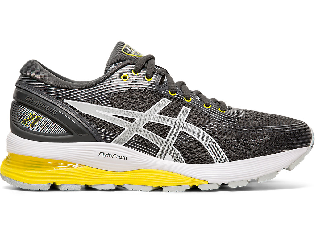 465cc87eb16 GEL-NIMBUS 21 | Women | DARK GREY/MID GREY | FURTHER | ASICS