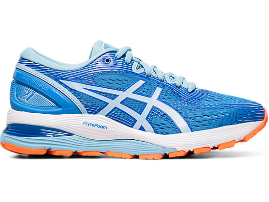 eaaaa9cb2b9 GEL-NIMBUS 21 | Women | Blue Coast/Skylight | ASICS US