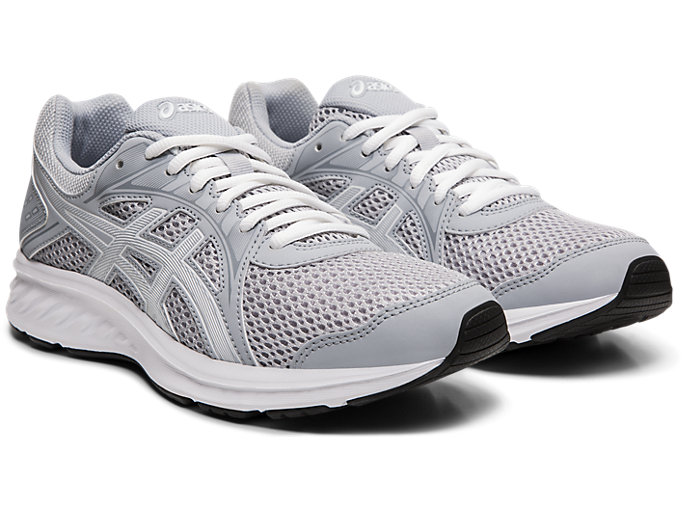 Front Right view of JOLT 2, PIEDMONT GREY/WHITE