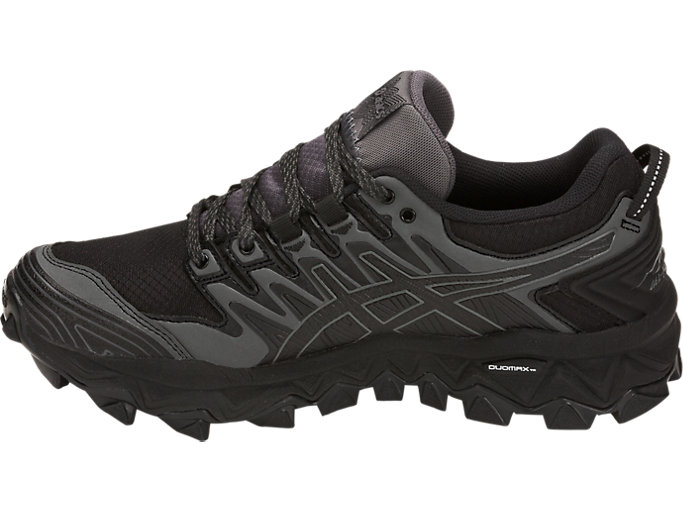 Asics Mens GEL FujiTrabuco 7 GORE TEX Trail Running Shoes BlackDark Grey