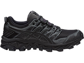 GEL-FUJITRABUCO 7 G-TX, BLACK/DARK GREY
