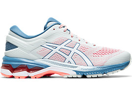 Right side view of GEL-KAYANO 26, POLAR SHADE/WHITE